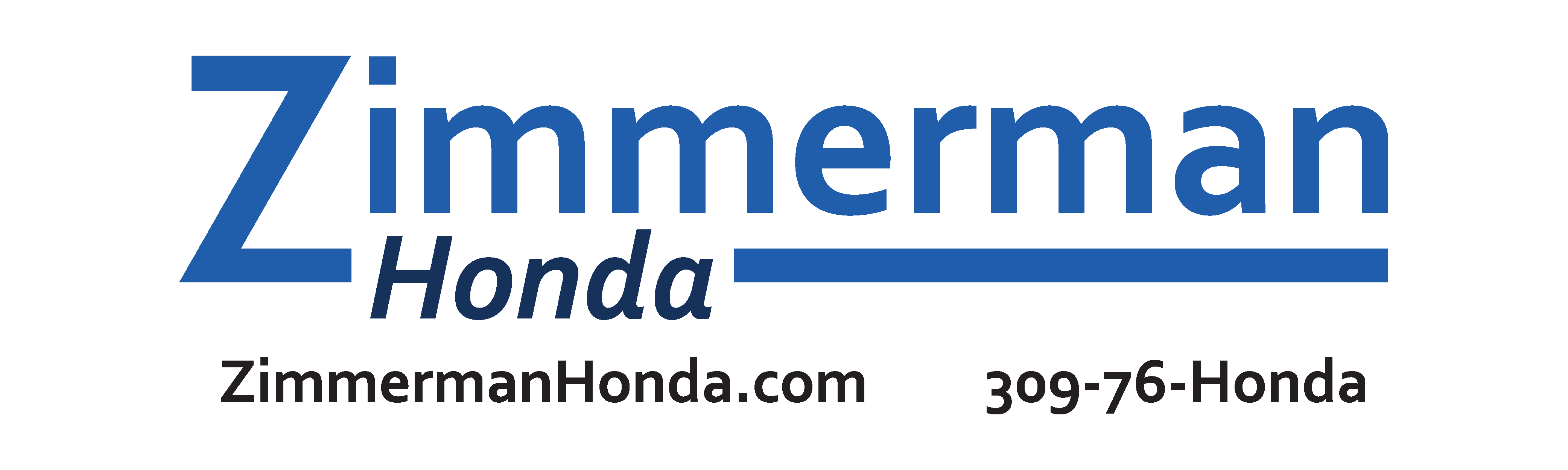 Z honda logo blue website phone